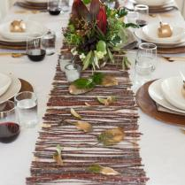 Make A Rustic Twig Table Runner