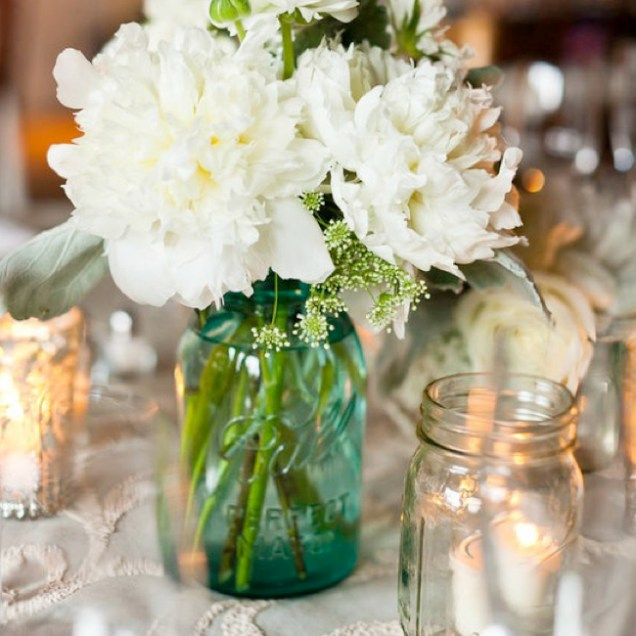 Mason Jar Ideas For Weddings