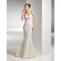 Mermaid Style Wedding Dresses With Straps