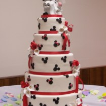 Mickey Mouse Wedding Cakes
