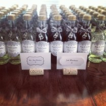 Mini Wine Bottle Favors For Weddings