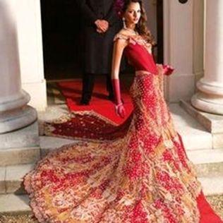 Modern Indian Wedding Gown