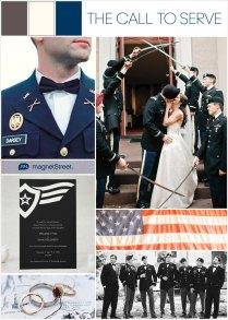 Modern Military Themed Wedding Ideastruly Engaging Wedding Blog