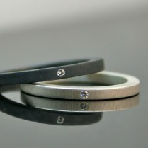 Modern Wedding Rings By Coco And Chia