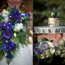 Navy Blue Wedding Flowers Gallery