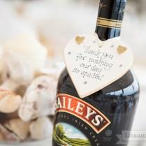 New 2 Wedding Favor Alcohol Bottles
