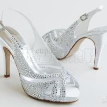New Arrived Satin Bridal High Heels Shoes Wedding Shoes Bride