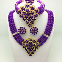 Online Get Cheap Purple Wedding Sets