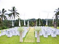 Outdoor Wedding Ceremony Decorations