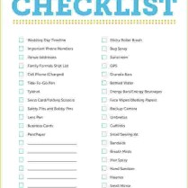 Outdoor Wedding Checklist Wedding Day Checklist Web Jpg