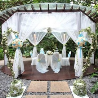 Outdoor Wedding Decorating Ideas On Decorations With Purple