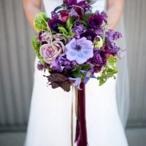 Perfect Purple Wedding Flowers To Die For