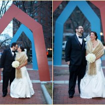 Photographs Of Winter Wedding At Royal Sonesta With Carol Silverston