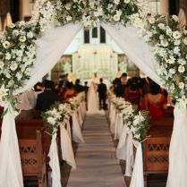 Pictures Of Church Wedding Decorations On Decorations With Wedding