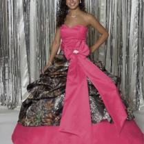 Pink Camo Wedding Dress (09)