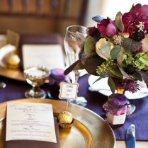 Plum And Gold Wedding Inspiration Archives