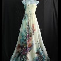 Plus Size Maxi Dress Wedding Gown Ivory Bridesmaid Dress Prom