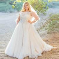 Country Wedding Dress Plus Size
