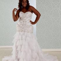 Plus Size Wedding Dress Corset Naf Dresses