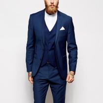 Popular Blue Wedding Suits For Men