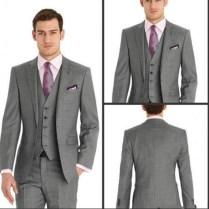 Popular Gray Wedding Tuxedo