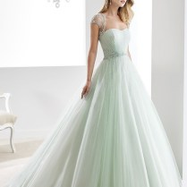 Popular Light Green Wedding Dress