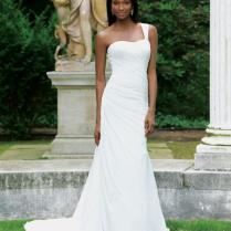 Popular Silky Wedding Dress