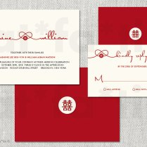 Printable Red Knot Double Happiness Chinese Wedding By Fatfatin