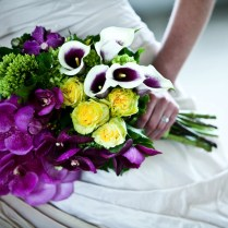 Purple And Yellow Wedding Ideas