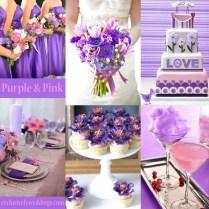 Purple Wedding Color – Combination Options