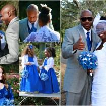 Royal Blue Gray Wedding Colors
