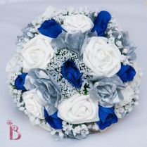 Royal Blue Wedding Flowers