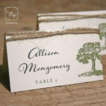 Rustic Tree Twine Wedding Place Cards Set Of 50 2416534