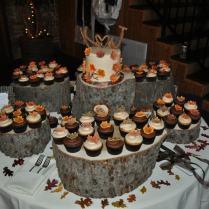 Rustic Wedding Cake And Cupcakes Plus Recipes!