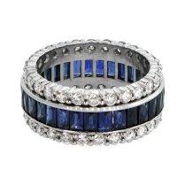 Sapphire Wedding Band 56454600