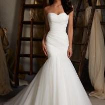 Sheath Column Sweetheart Beading Pleats Organza Wedding Dresses