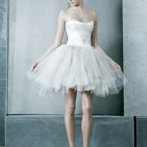 Short Tutu Wedding Dress