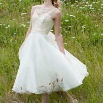 Short Vintage Wedding Dresses Australia