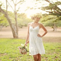 Short Wedding Dresses With Cowboy Boots For Stylish Bridal Look