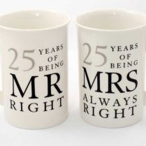 Silver Wedding Anniversary Gifts