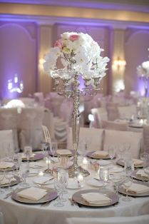 Silver Wedding Decorations For Tables On Decorations With Wedding