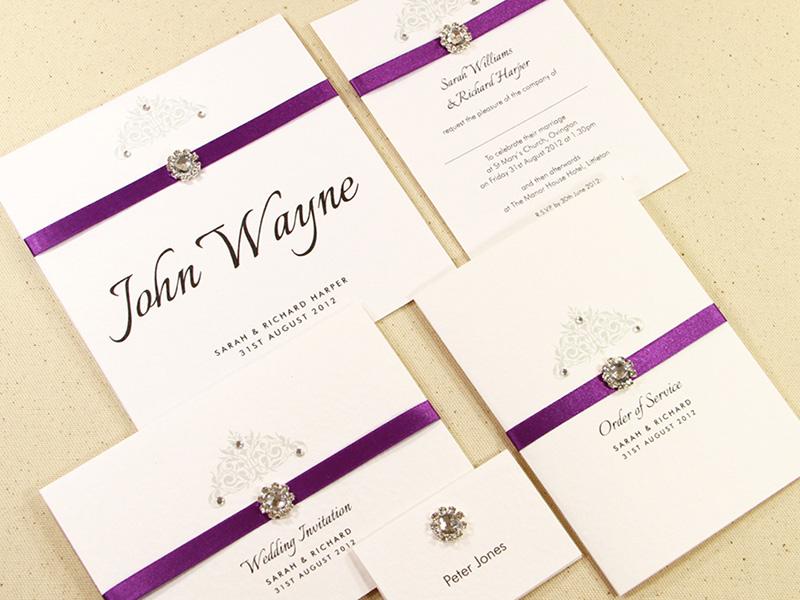 Homemade Wedding Invitation Ideas