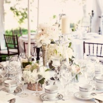Simple Wedding Table Centerpieces Images Elegant Rustic Wedding