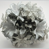 Southern Blue Celebrations Silver & Gray Wedding Bouquets