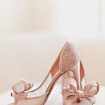 Steel Magnolias Inspired Blush Pink Wedding Heels Wedding Shoes