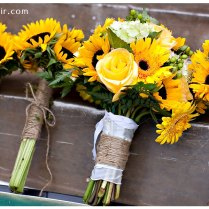 Sunflowers, Bouquets And Burlap On Emasscraft Org