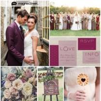 Sweet Sangria Wedding Color & Inspiration!truly Engaging Wedding Blog