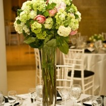 Tall Glass Vases Wedding Centerpieces