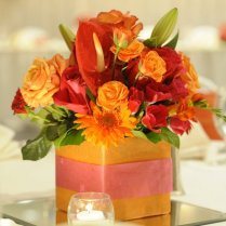 The Dream Wedding Inspirations Wedding Reception Centerpieces