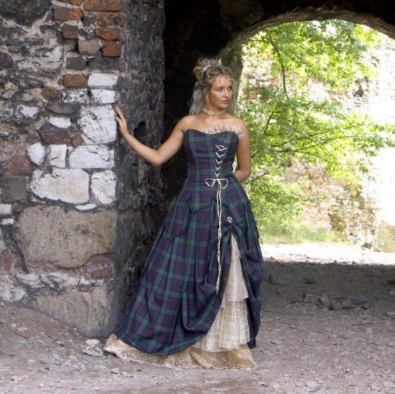 Traditional Scottish Wedding Dress